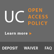 UC Open Access Policy Learn More