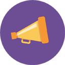 bullhorn-purple-128