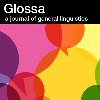 Glossa:  A Journal of General Linguistics icon