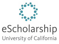 "eScholarship logo with text ""eScholarship - University of California"""