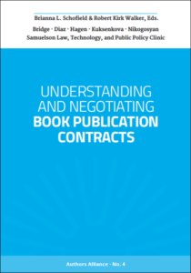 Book cover for Understanding and Negotiating Book Publication Contracts