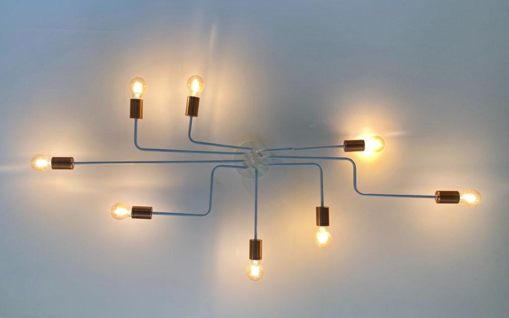 Interconnected light fixture